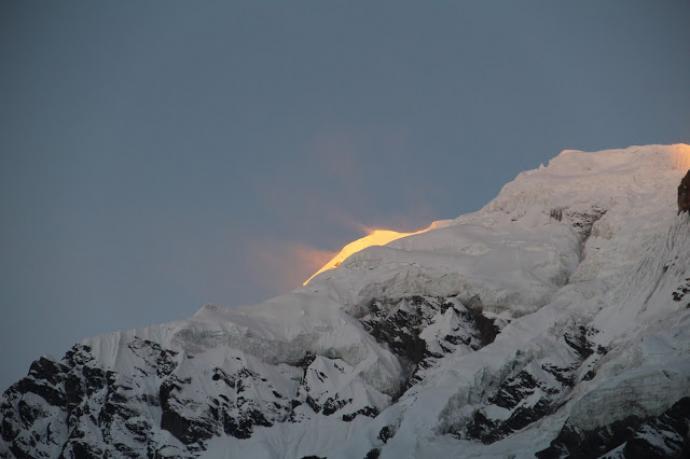 Annapurna - pocałunek o świcie
