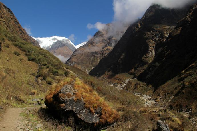 Dolina rzeki Modi Khola