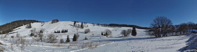 Przełęcz Trzech Dolin w pełnej krasie