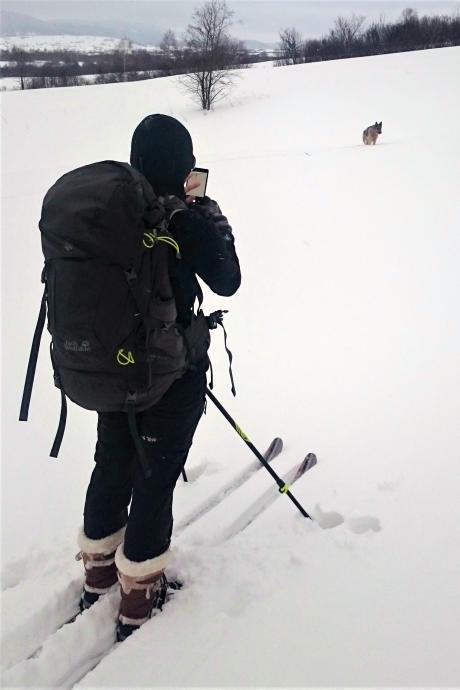 Buty Kamik Snowvalley z nartami BC