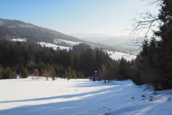 Droga do Zapolanki prowadzi przez wiele urokliwych miejsc.