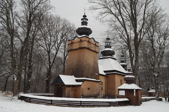 Cerkiew łemkowska w Hańczowej (2. poł. XIX w.)