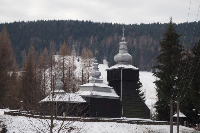 Cerkiew św. Dymitra w Czarnej, XVIII w.