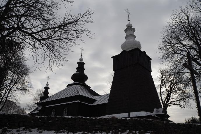 XVIII-w. cerkiew św.michała Archanioła w Brunarach została wpisana na listę UNESCO