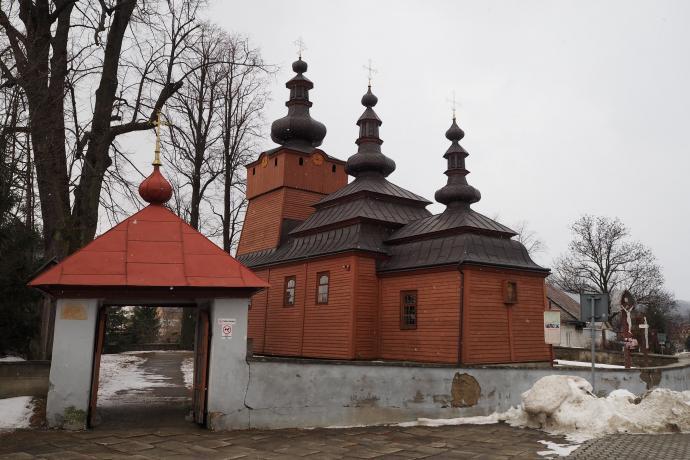 Prawosławna cerkiew (2. poł. XVIII w.) w Wysowej