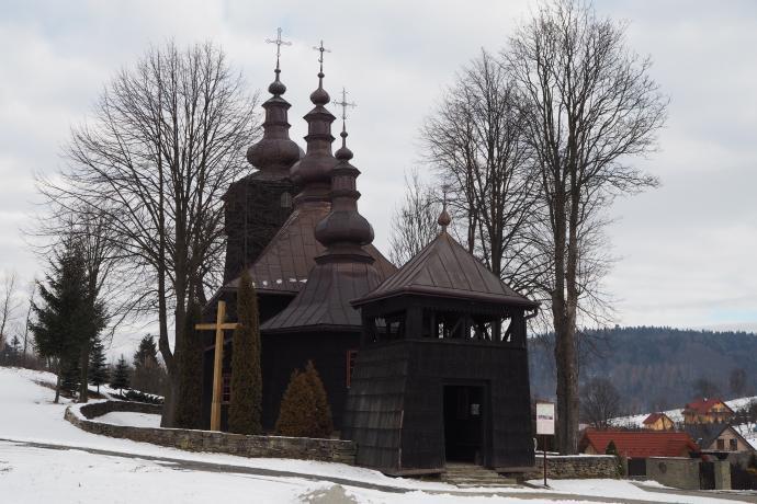 Banica, cerkiew św.św. Kosmy i Damiana (poł. XVIII w.)