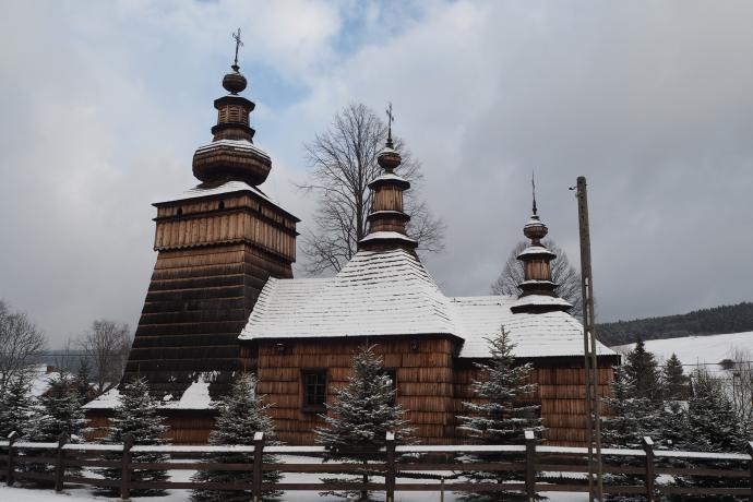 Dawna cerkiew (onecnie kościół) w Skwirtnem (1. poł. XIX w.)