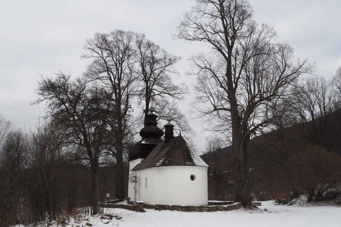 Cerkiew Św. Michała Archanioła (z 1796 r.) w opustoszałej Bielicznej
