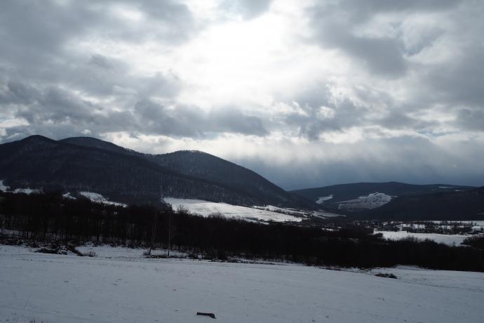 Otoczenie Busova (1002 m n.p.m.) - najwyższego szczytu Beskidu Niskiego