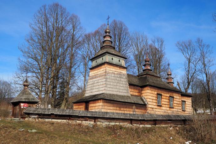 Cerkiew św.św. Kosmy i Damiana w Bartnem, przeb. w 1842 r.