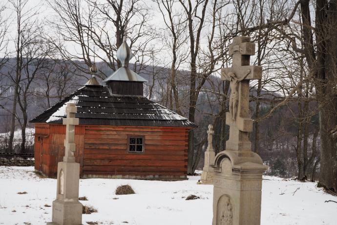 Odbudowana XVIII-wieczna czasownia Przeniesienia Relikwii św. Mikołaja Cudotwórcy