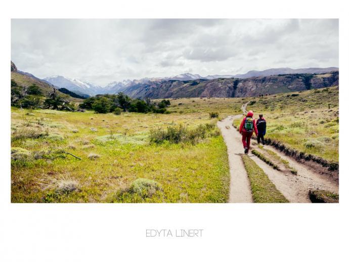 Ścieżka prowadząca do El Chalten