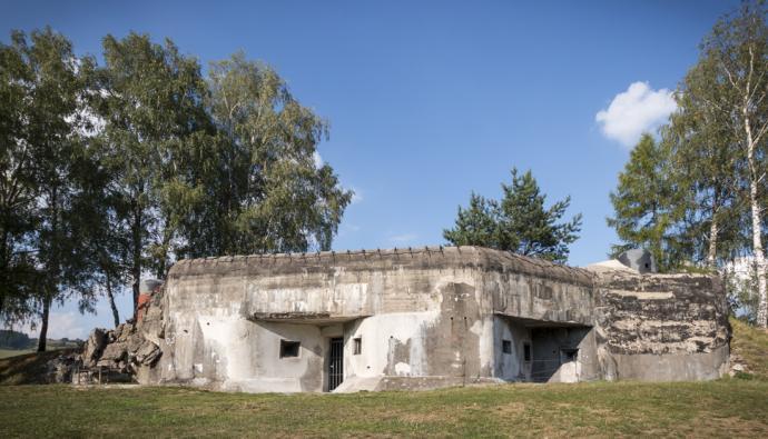Bunkry w okolicach Kraliky