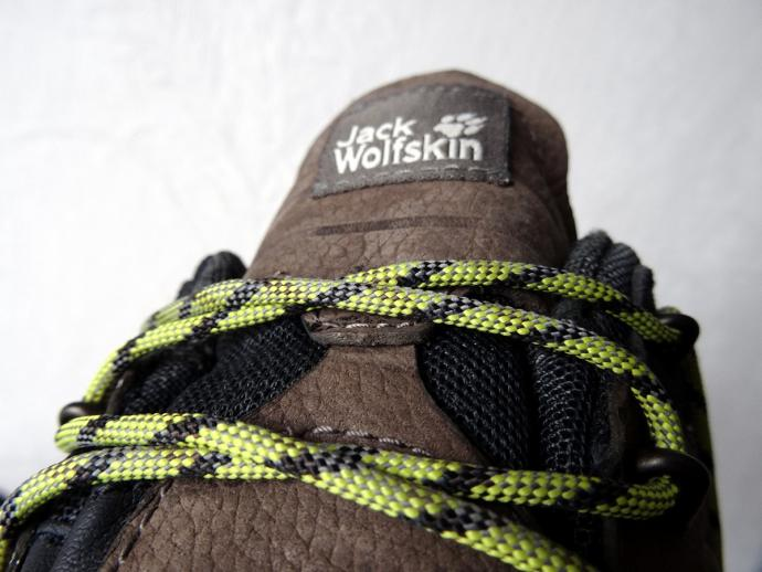 Buty Jack Wolskin Altiplano Texapore Low M - sznurówki