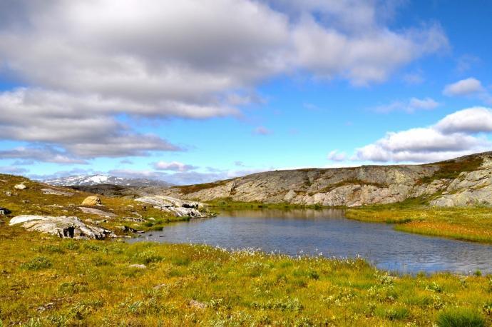 Górskie jeziorko