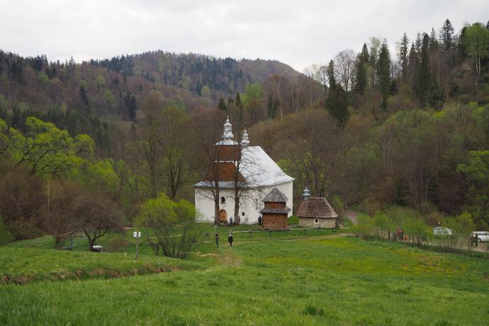 Zespół cerkiewny w Łopience