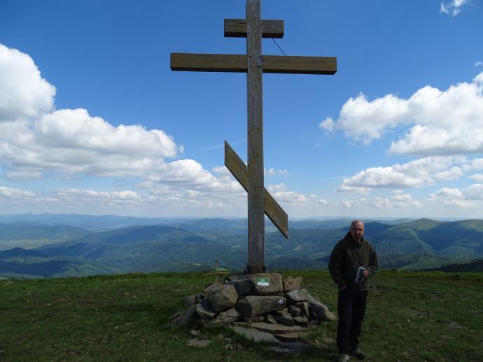 Najwyższy wierzchołek Połoniny Równej, jest kolejnym szczytem zaliczanym i zdobytym przeze mnie w ramach Korony Gór Ukrainy