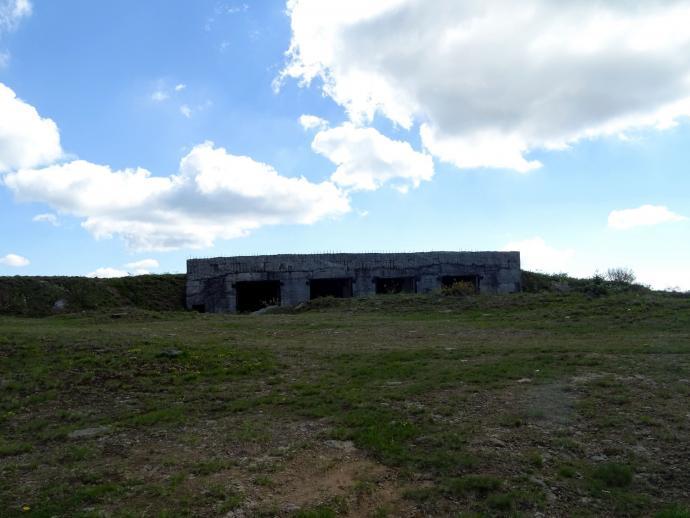 Pozostałości bazy rakietowej