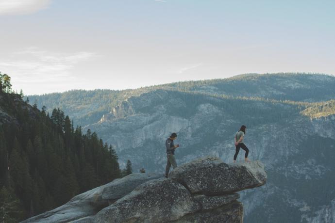 W górach