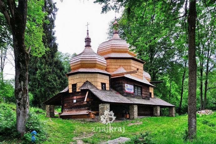 Remontowana cerkiew w Piątkowej. Fot. Szymon Nitka, Znajkraj