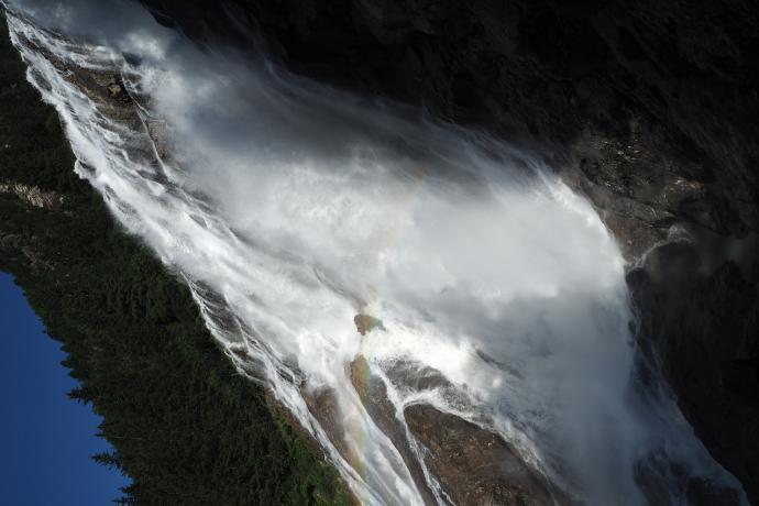 A to kolejna atrakcja - wodospad Grawa