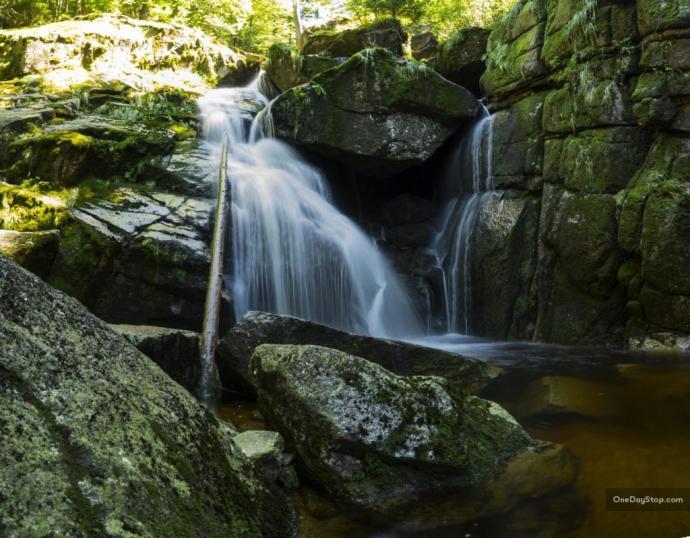 Wodospad Černého Potoka
