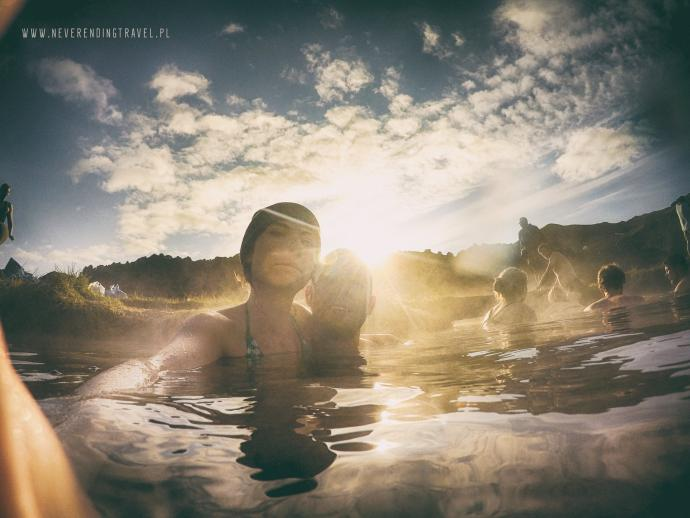 selfie z wody