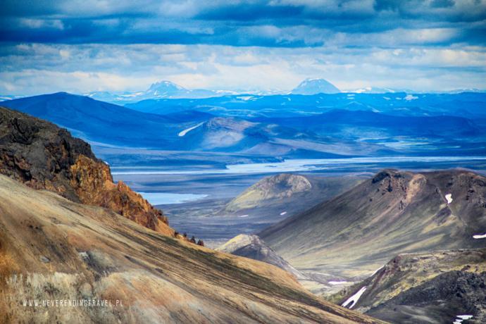 Islandia- góry Lanmannalaugar
