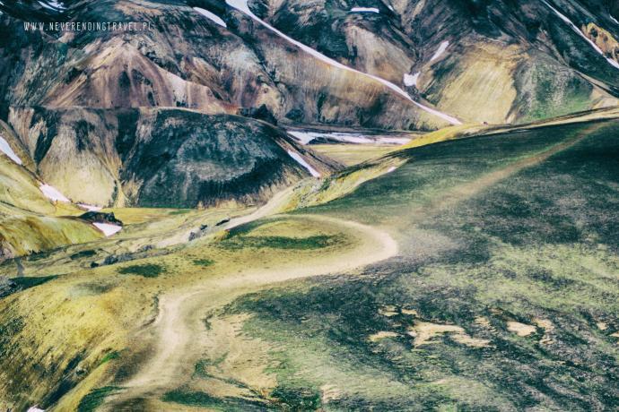 Islandia- góry tęczowe