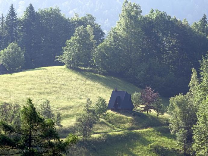 Kapliczka na Przełęczy Przysłop