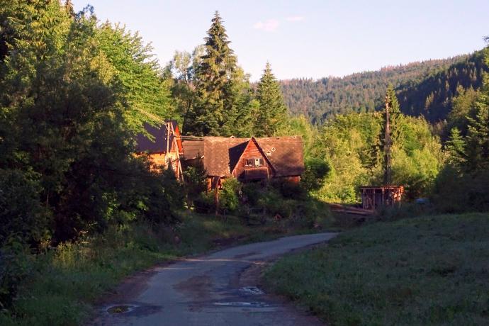 Chata w przysiółku Ochotnicy Górnej - Jaszcze