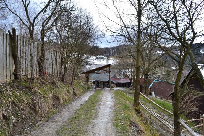 Osada ukryta w górach