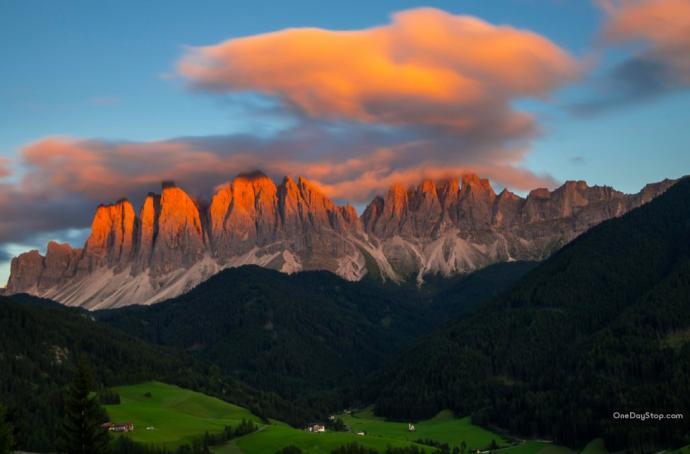 Val di Funes - Grupa Odle