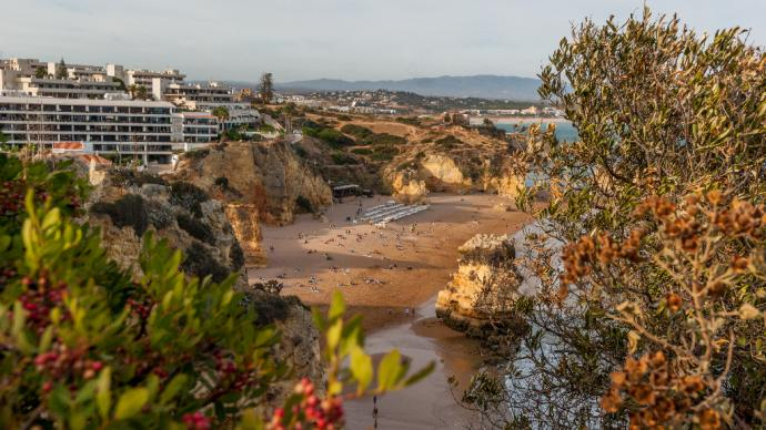 Plaża Praia Dona Ana