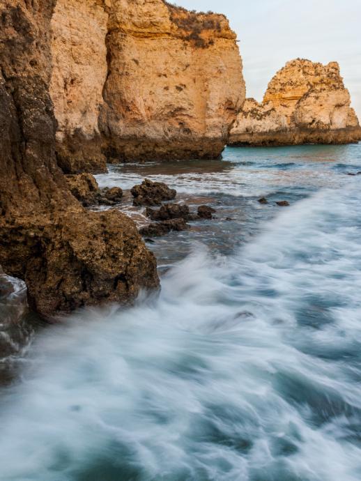 Bez przerwy ocean zabiera milimetr po milimetrze lądu