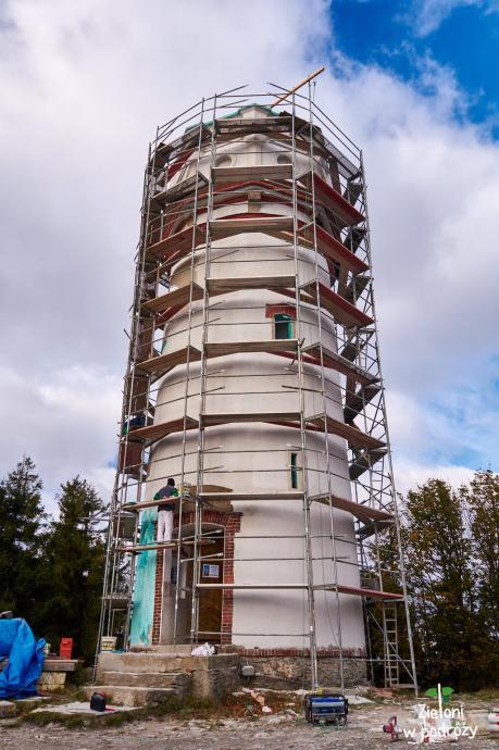 Wieża na Biksupiej Kopie