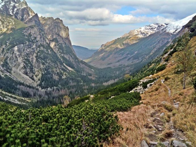 Dolina Białej Wody - widok z góry