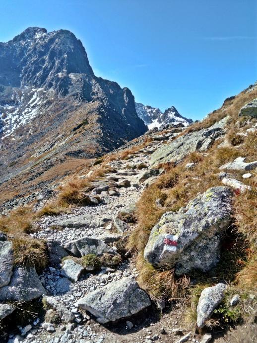 na szlaku w Tatrach słowackich