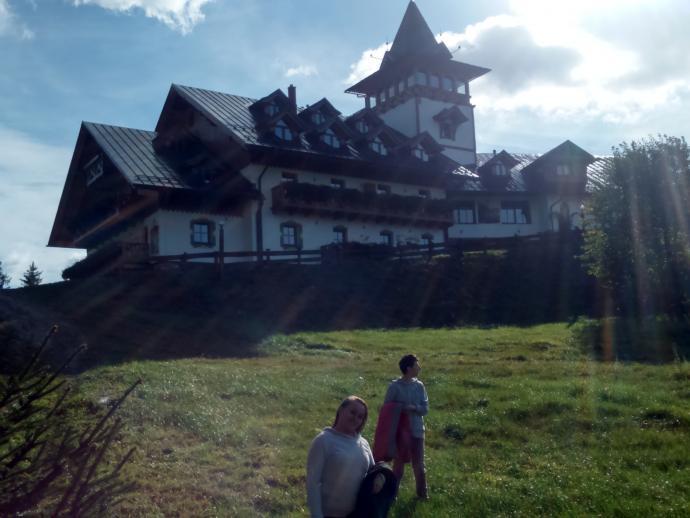Křížový vrch i hotel o tej samej nazwie
