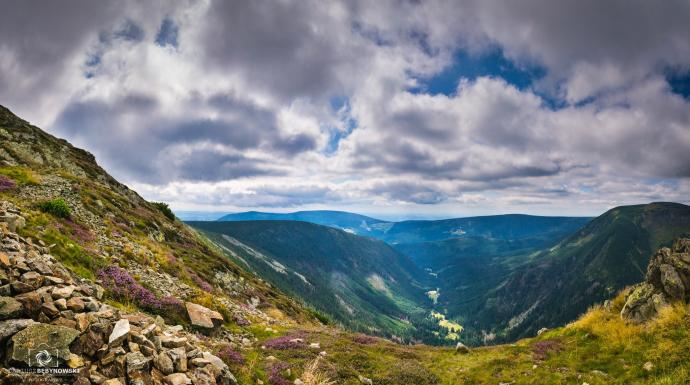 Widok na Obři důl (Olbrzymi dół)