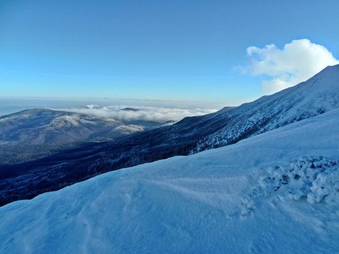widok spod Babiej Góry