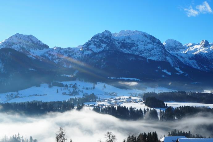 Tennengebirge to jeden z masywów Alp Salzburskich