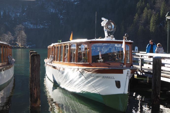 Takim właśnie stateczkiem wypłyniemy w rejs po Königsee