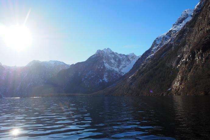 Jezioro Królewskie uchodzi za jedno z najczystszych jezior Niemiec