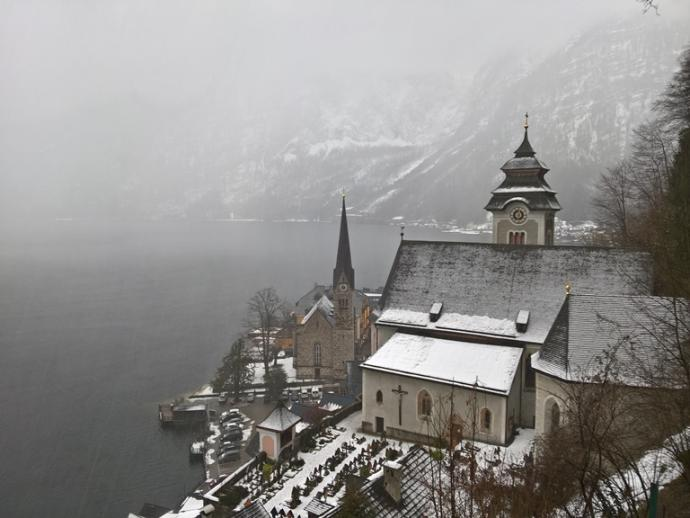 Kościół katolicki zbudowano w XV w.