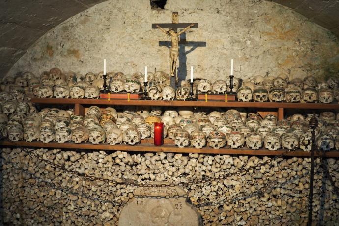 Kaplica św. Michała służy mieszkańcom Hallstatt od pocz. XVII w.