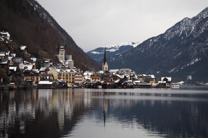 Alexander von Humboldt nazwał Hallstatt najwspanialszym 'lake village' na świecie - koniecznie tu przyjedźcie!