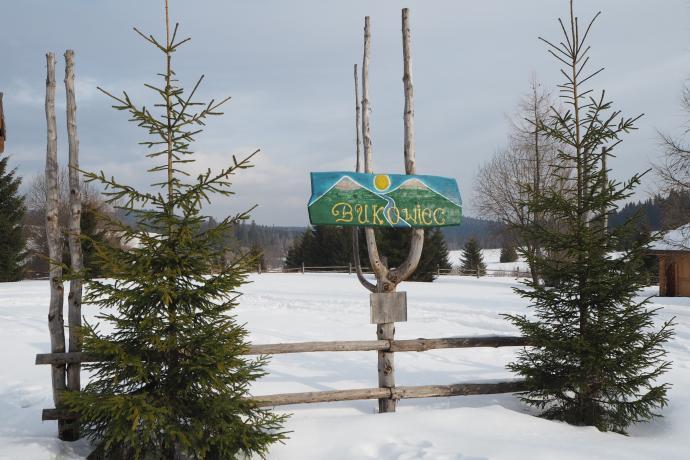 Naszą wycieczkę zaczynamy na terenie dawnej wsi Bukowiec