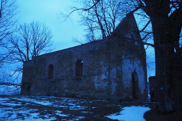 To najlepiej zachowane ruiny cerkwi w Bieszczadach