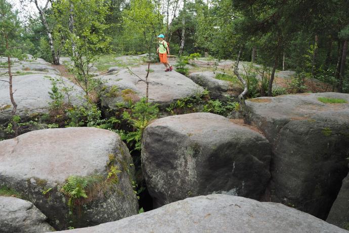 Punkt widokowy na wierzchołku skalnych stołów